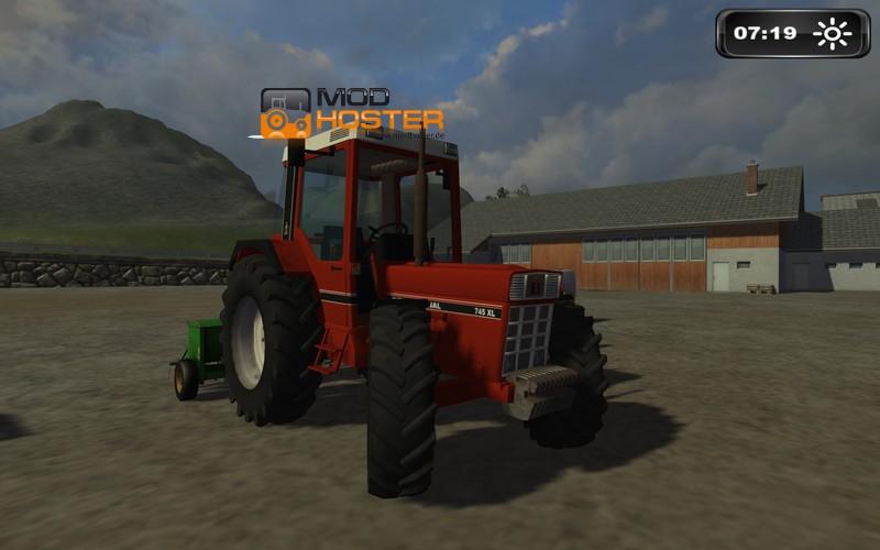 Fs 2011 Case Ih 745 Xl V 1 1 Case Mod F 252 R Farming