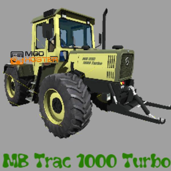 fs 2011 mb trac 1000 turbo v 1 0 mercedes benz mod f r. Black Bedroom Furniture Sets. Home Design Ideas
