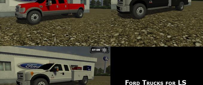 Ford Farm Trucks Ford Truck Pack v 1