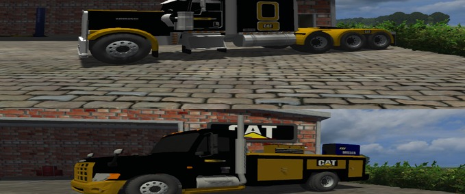 4 To 1 Haul System http://www.modhoster.com/mods/cat-truck-pack