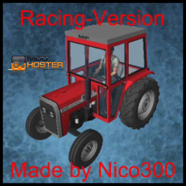 Volvo 240 Engine Mods: LS 2011: Massey Ferguson 240 Racing V 1 Oldtimer Mod Für