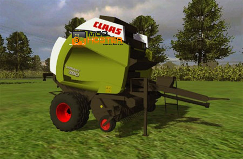 ls 2011 claas variant 380 v 3 pressen mod f r landwirtschafts simulator 2011. Black Bedroom Furniture Sets. Home Design Ideas