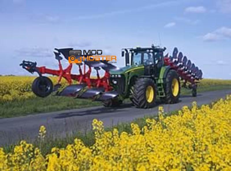 LS 2011: John Deere 8530 v 1 8000er Mod für Landwirtschafts Simulator ...