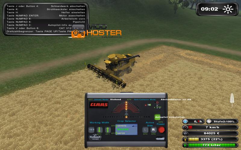 Fs 2011 cat lexion 595r ap v 2 0 cat mod f 252 r farming simulator 2011