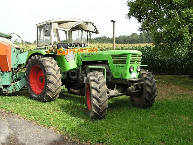 FS 2011: Deutz 8006 v 1 Deutz Fahr Mod für Farming Simulator 2011