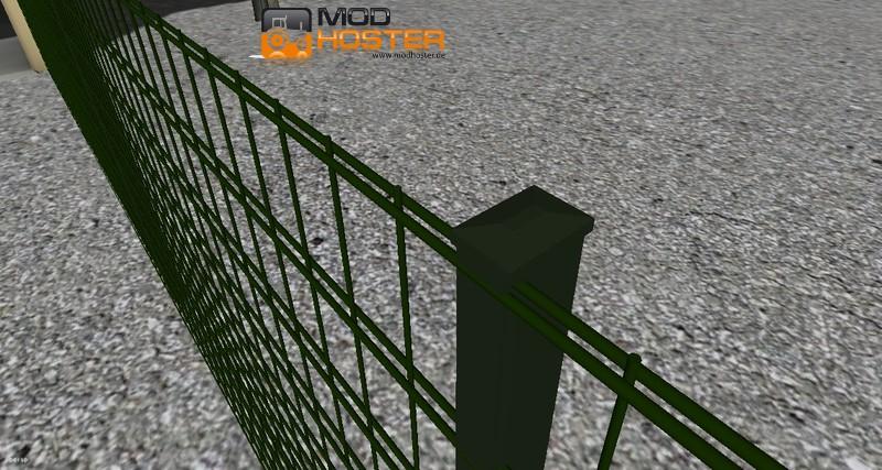 Fs 2011 Steel Double Rod Fence V 1 Objects Mod Fur Farming
