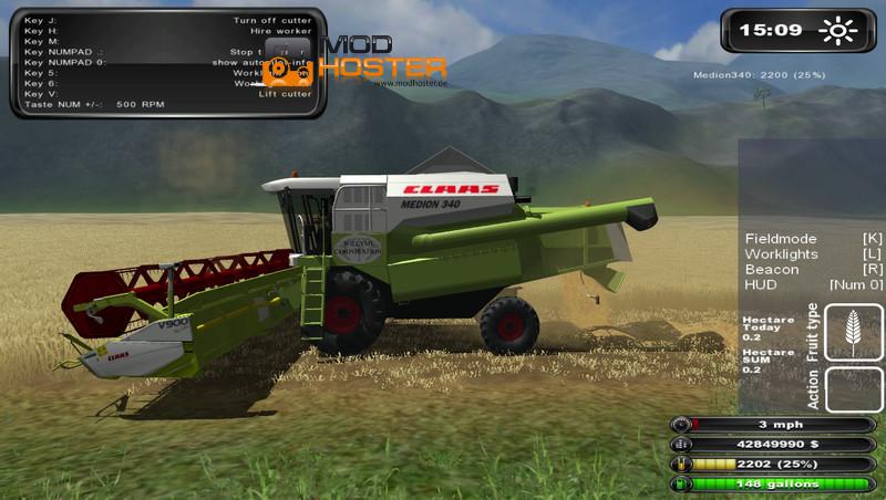 fs 2011 claas medion 340 v 1 0 claas mod f 252 r farming