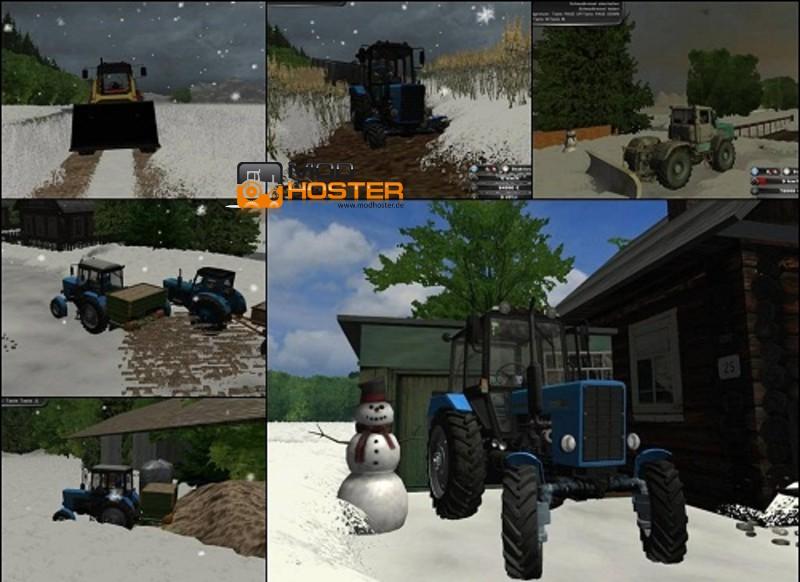 FS Muddy Map Tél V Maps Mod Für Farming Simulator - Norway map ls 2013