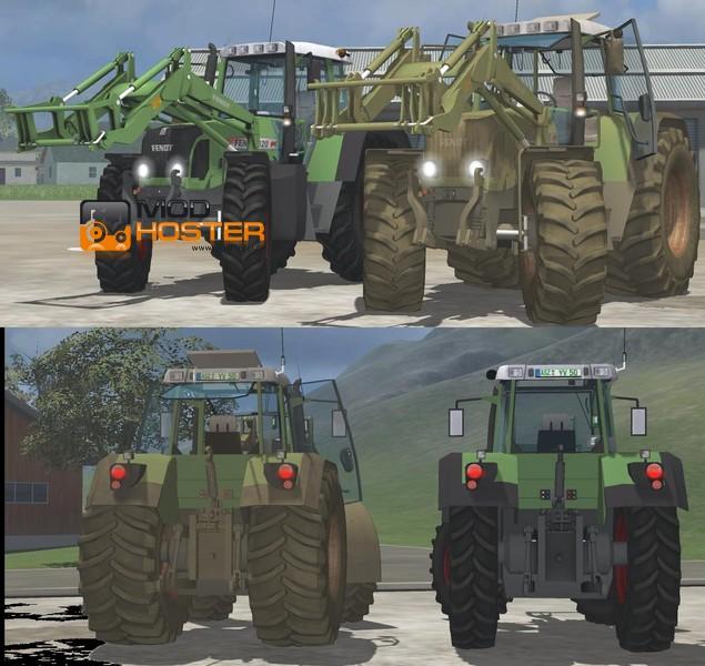 FS 2011 allinone chaff Pack BigX1100 and Xerion 3800VC v 1