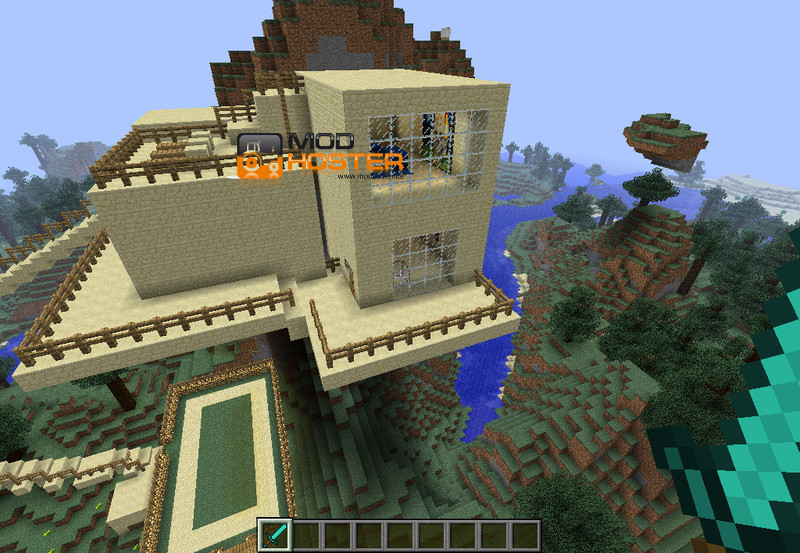 Minecraft: My Minecraft Map v 1.1 Maps Mod für Minecraft ...