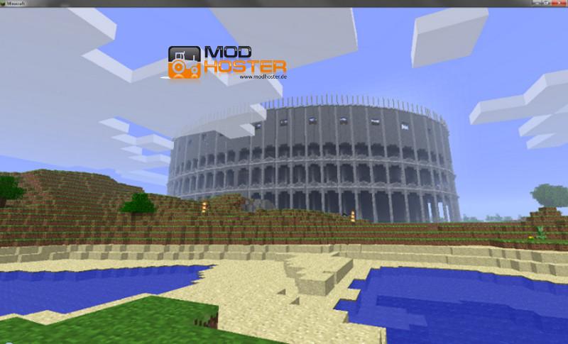 Minecraft: Roma City Map v 1.0 Maps Mod für Minecraft | modhoster.de