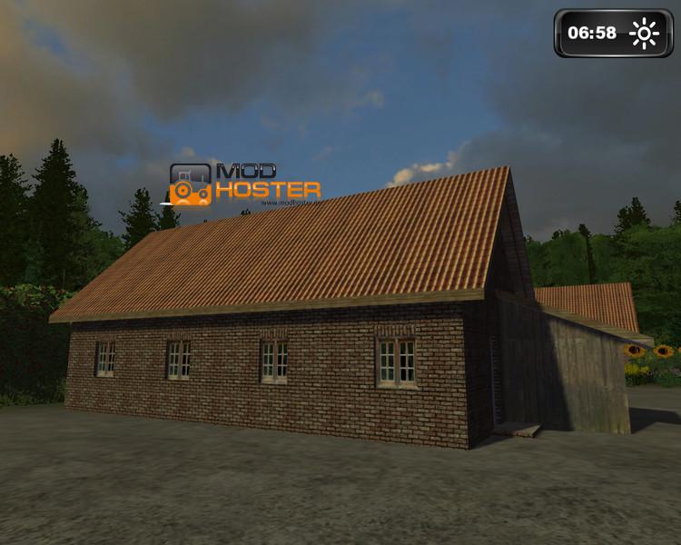 ls 2011 einfaches haus v 1 1 geb ude mod f r landwirtschafts simulator 2011. Black Bedroom Furniture Sets. Home Design Ideas