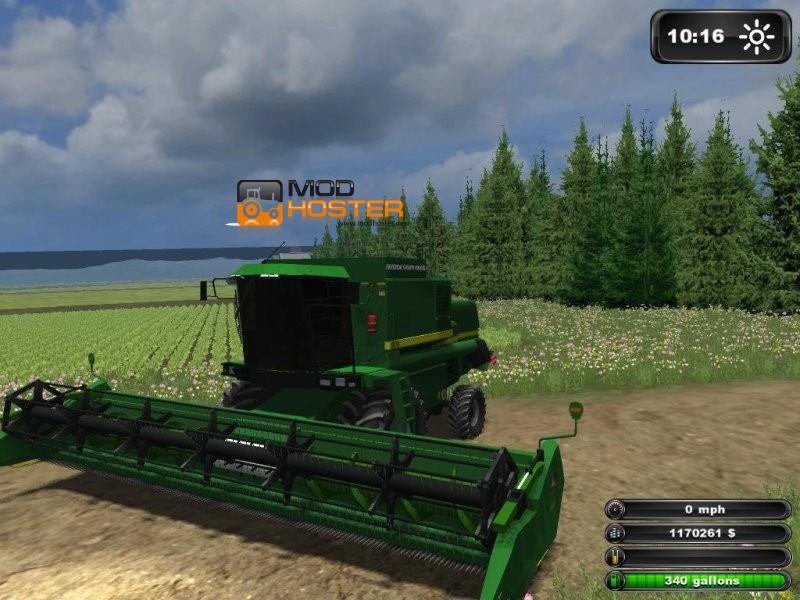 FS 2011: John Deere 1175 AP v 1 John Deere Mod für Farming Simulator 2011