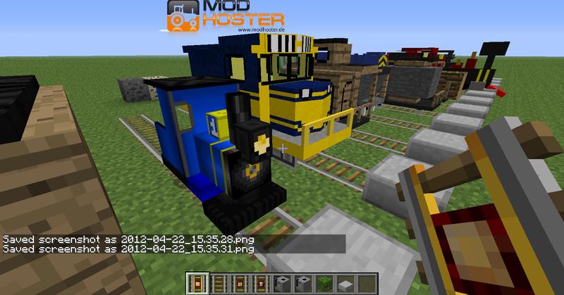 Minecraft Trains And Zeppelin V Mods Mod Für Minecraft - Minecraft zug spiele