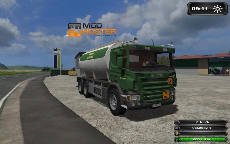 Fs 2011 Scania Diesel Tank Truck V 3 Scania Mod F 252 R Farming Simulator 2011