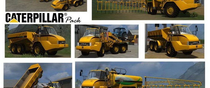 Cat-725-dumper-pack