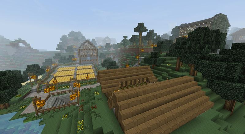 Minecraft Farmmap Mit Zubehör V Maps Mod Für Minecraft - Minecraft lagerhauser