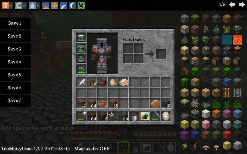 too many items mod minecraft forums