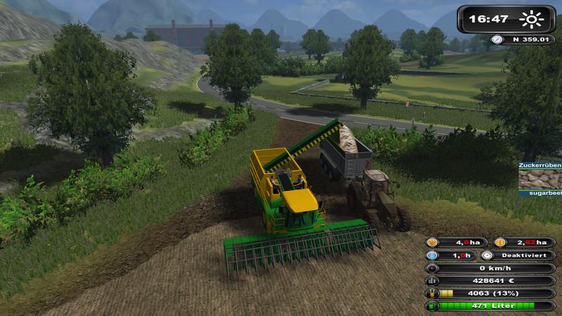 FS 2011: Ploeger harvester with autopilot v 1 0 Other