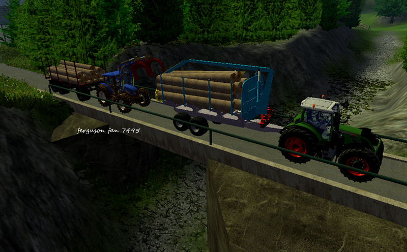 CAT Forwarder 584 HD + Forest Holz Mod LS.