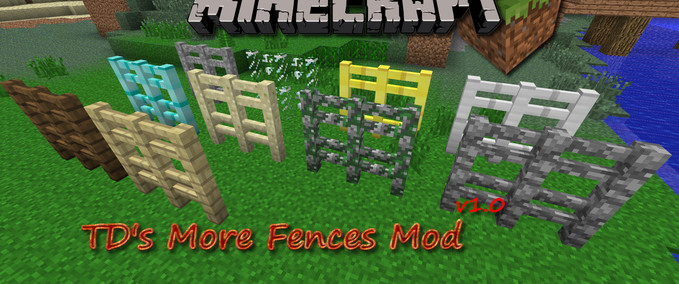 Minecraft Tds More Fences V 1 0 Mods Mod Fur Minecraft Modhoster De