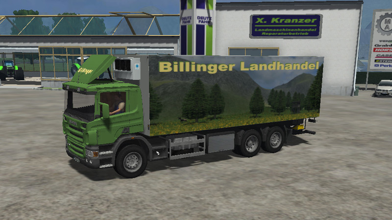 ls 2011 scania k hl lkw billinger landhandel v 1 0 scania mod f r landwirtschafts simulator 2011. Black Bedroom Furniture Sets. Home Design Ideas