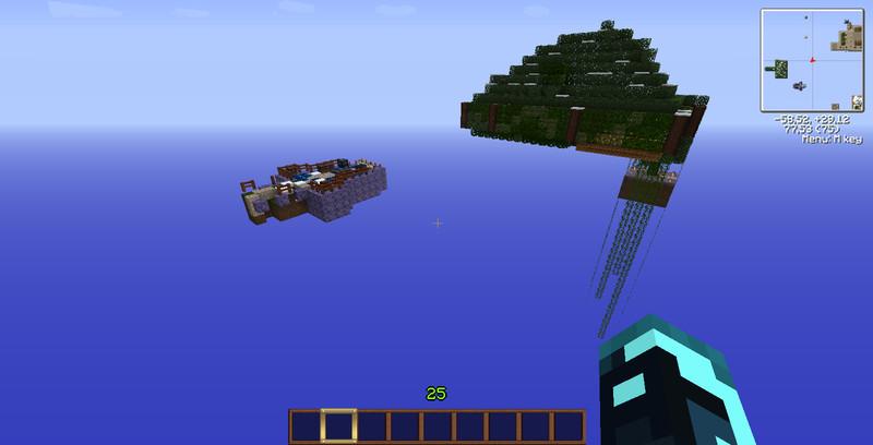 Minecraft SkyBlock V Maps Mod Für Minecraft Modhosterde - Minecraft skyblock kostenlos spielen ohne download