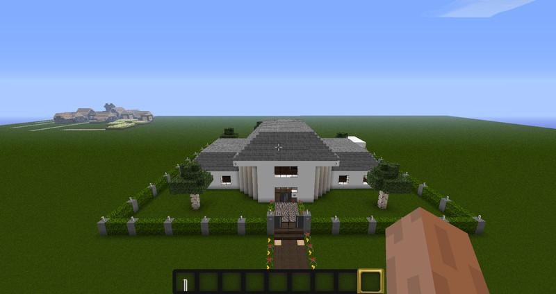 Minecraft modern house ft v 1 3 2 mods mod f r minecraft for Minecraft modernes haus download 1 7 2