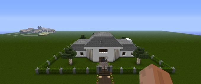 Minecraft Modern house FT v 132 Mods Mod fr Minecraft