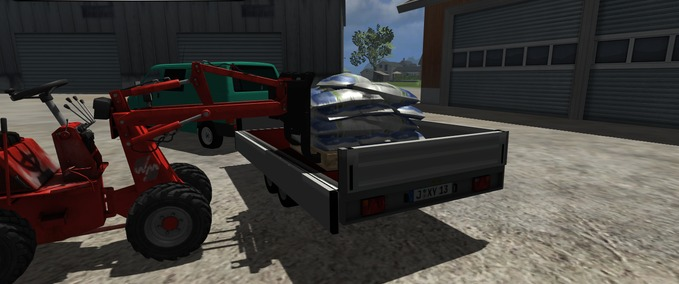 Humbaur-trailer