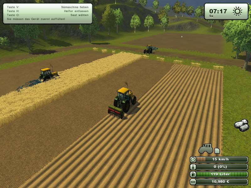 SYMULATOR FARMY 2013 - KLUCZ - AUTOMAT 24/7 (2+1) (3210167650)
