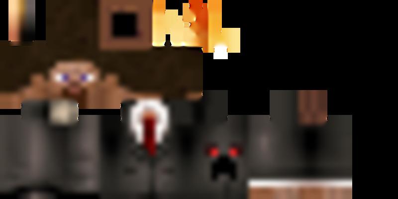 Minecraft Steve Skin With Creeper Face V Skins Mod Für Minecraft - Skins fur minecraft 1 11 2