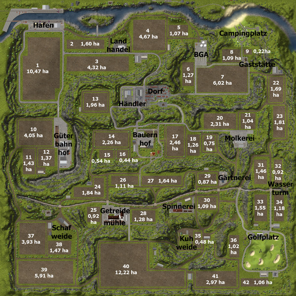 fs 2013 map overview v 2 0 tutorials mod fà r farming simulator 2013