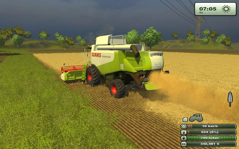 FS 2013: Claas Lexion 550 v 1 5 Lexion Mod für Farming