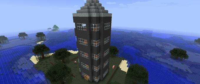 Minecraft pixel marsh house v 1 0 adventure mod f r minecraft - Minecraft hochhaus ...