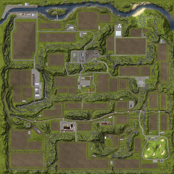 FS 2013: Original map edited v 1 Maps Mod für Farming Simulator 2013