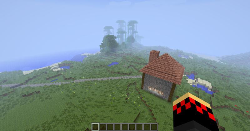 Minecraft kleines haus mit hafen v 1 0 maps mod f r minecraft for Kleines minecraft haus