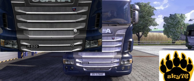 Chrome-grill-for-all-scania