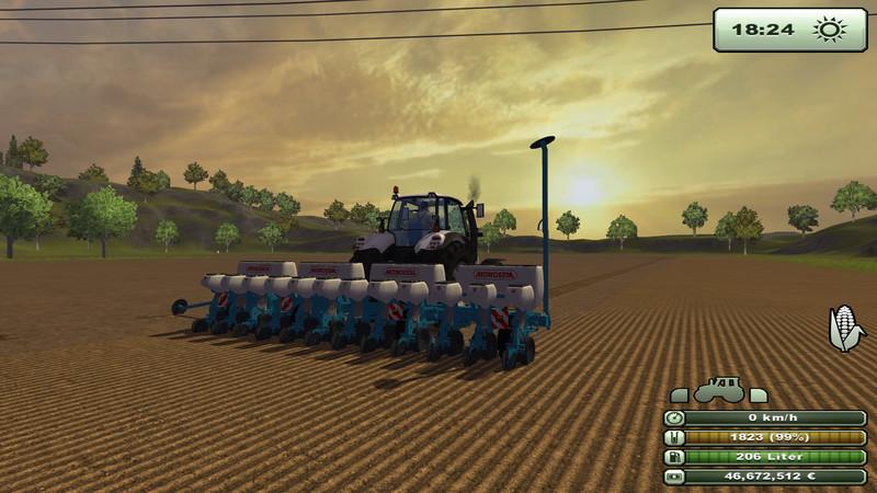 semoir pour farming simulator 2013