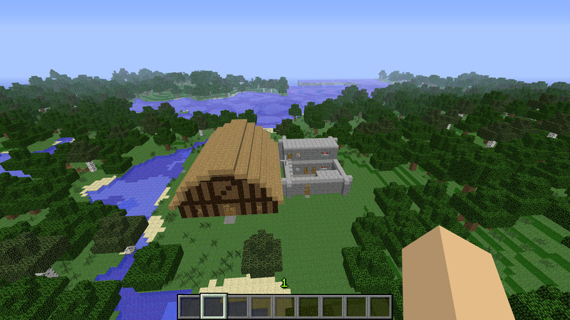 Minecraft Old Houses 1 1 Reconstructed V 1 0 Maps Mod Fur Minecraft
