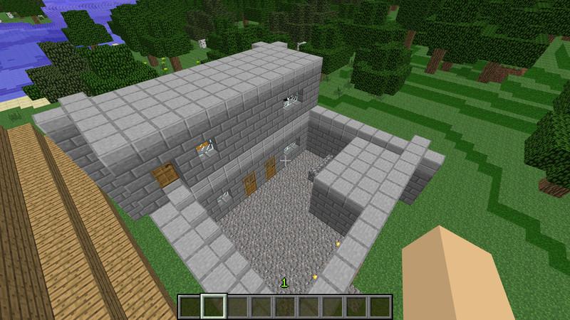 Minecraft Spielen Deutsch Minecraft Groe Huser Zum Nachbauen Bild - Minecraft bilder zum nachbauen hauser