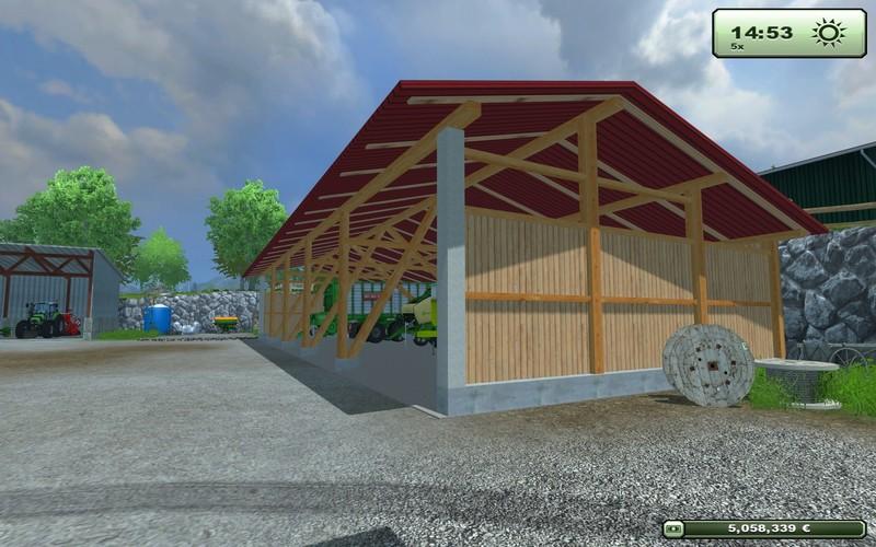 kleine halle bauen halle lagerhallen stahlkonstruction modernpavillon efekt. Black Bedroom Furniture Sets. Home Design Ideas