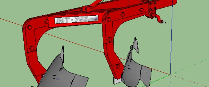 Imt-755-low-two-furrow-plough