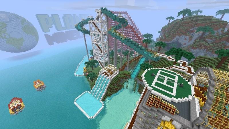 скачать карту с красивым домом в minecraft #11