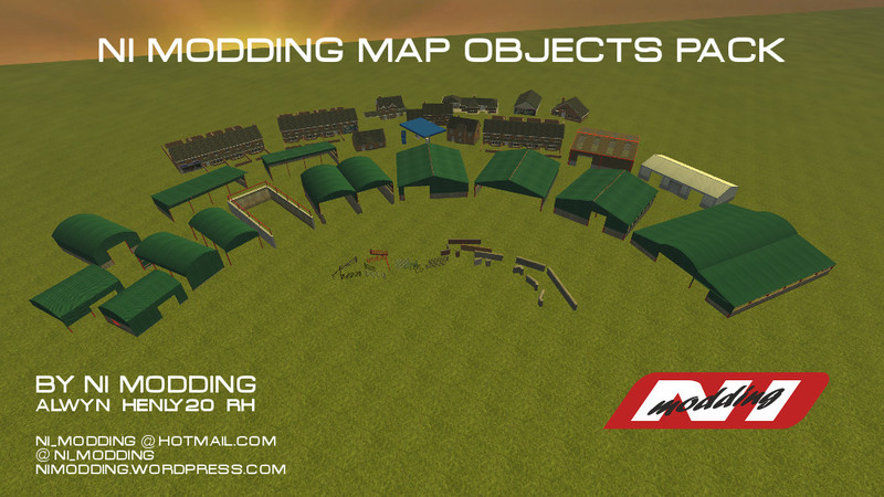 Fs 2013 Ni Modding Map Objects Pack V 1 Buildings Mod F 252 R Farming Simulator 2013