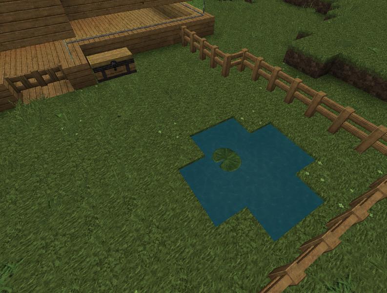 Minecraft: Haus zum einrichten v 1.4.5 Maps Mod für Minecraft