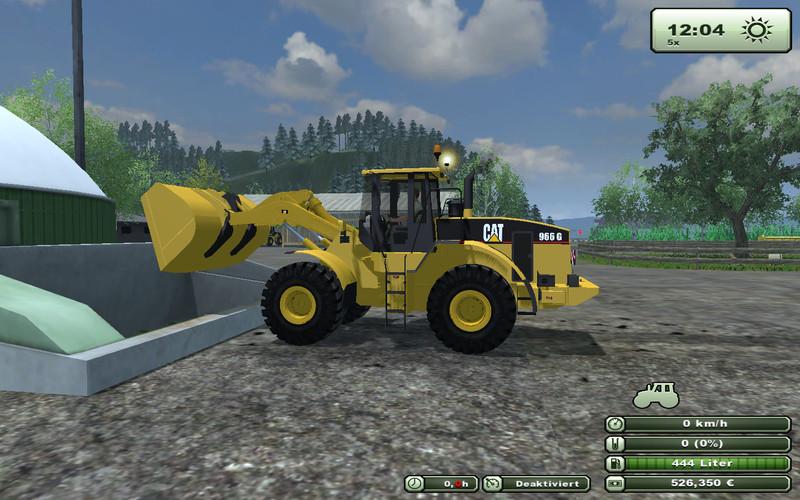 Ls 2013 Cat 966 G Serie Ls13 Radlader V 1 0 Cat Mod F 252 R