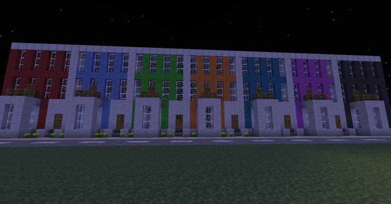 Minecraft creeperland mit vielen extras 3 v 1 4 6 maps - Minecraft hochhaus ...