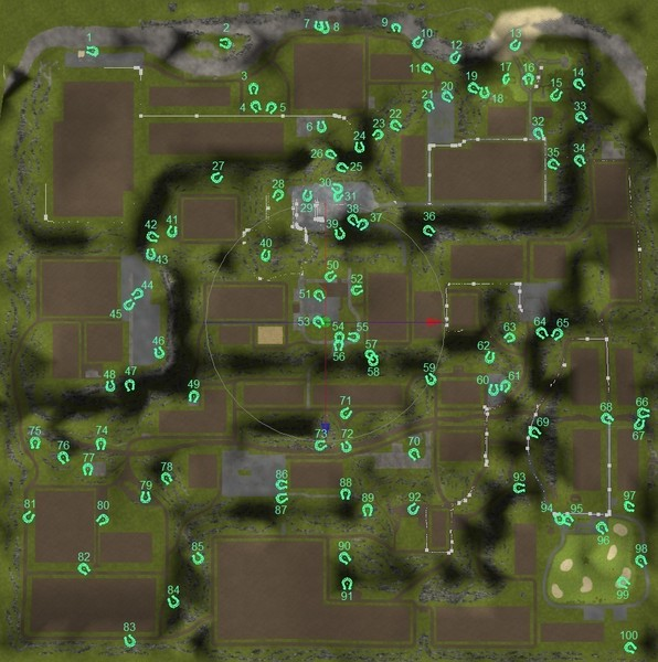 FS 2013: Horseshoe map v 1.1 Tools Mod für Farming Simulator 2013