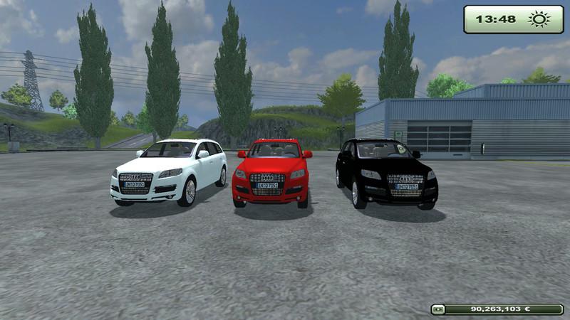 Ls 2013 Audi Q7 Zivil Pack V 1 1 Pkws Mod F 252 R